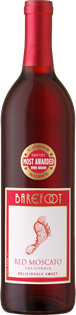 Barefoot Red Moscato 750ml - Case of 12